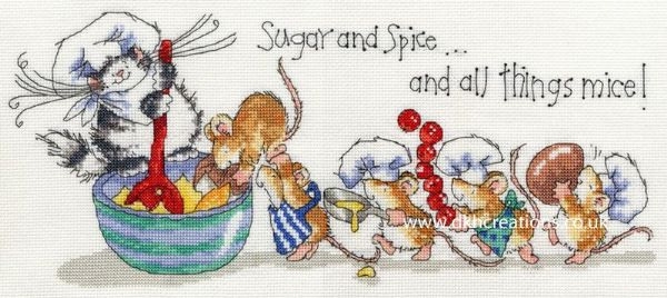 Sugar And Spice Margaret Sherry Cross Stitch Kit
